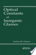 Optical Constants of Inorganic Glasses