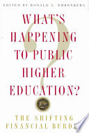 What S Happening To Public Higher Education