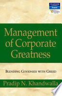 Management Of Corporate Greatness