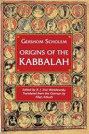 Origins of the Kabbalah