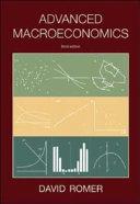 Advanced Macroeconomics Book
