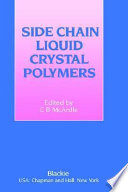 Side Chain Liquid Crystal Polymers Book