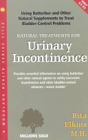 Natural Treatments for Urinary Incontinence: Using Butterbur