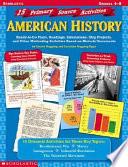 15 Primary Source Activities Book PDF
