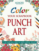 Color Your Scrapbook Punch Art