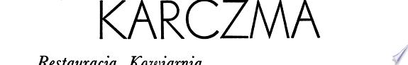 Polska karczma  restauracja  kawiarnia