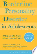 Borderline Personality Disorder in Adolescents  2nd Edition