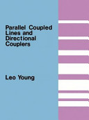 Parallel Coupled Lines and Directional Couplers