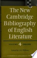 The New Cambridge Bibliography of English Literature