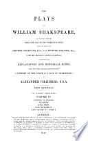 The Plays of William Shakspeare: Comedy of errors ; Macbeth ; King John ; King Richard II ; King Henry IV, part 1