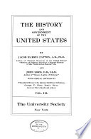 The History of the Government of the United States
