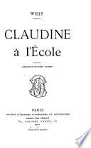 Claudine a l'E cole