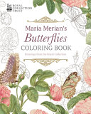 Maria Merian s Butterflies Coloring Book