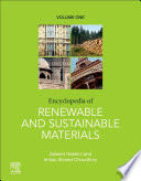 """Encyclopedia of Renewable and Sustainable Materials"" by Imtiaz Ahmed Choudhury, Saleem Hashmi"