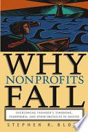 Why Nonprofits Fail