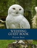 Wedding Guest Book Book