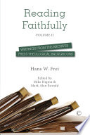 Reading Faithfully - Volume Two