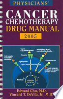 Physicians Cancer Chemotherapy Drug Manual 2005