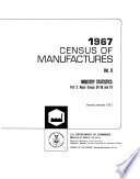Census of Manufactures