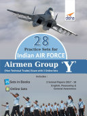 28 Practice Sets for Indian Air Force Airmen Group Y (Non-Technical Trades) Exam with 3 Online Sets Pdf/ePub eBook