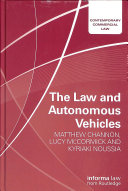 The Law and Autonomous Vehicles