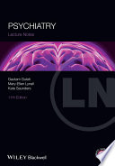 Lecture Notes Psychiatry Book PDF