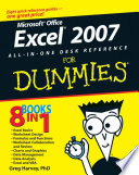 List of Dummies Excel E-book