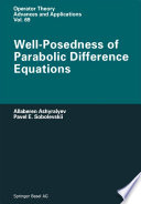 Well Posedness of Parabolic Difference Equations