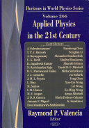 Applied Physics In The 21st Century Book PDF