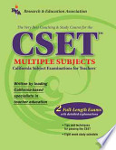 The Best Teachers' Test Preparation for the CSET Multiple Subjects