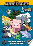 Minecraft Official Animals Sticker Book  Minecraft