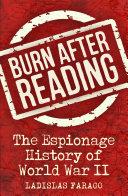 Burn After Reading Pdf/ePub eBook