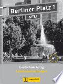 Berliner Platz - neu  : A1 , Band 1