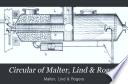 Circular of Malter, Lind & Rogers