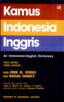 An Indonesian English Dictionary