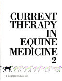 Current Therapy in Equine Medicine Book