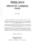 Phelon's Discount & Jobbing Trade