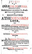 De Magistratibus Atheniensium Liber