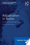 Adjudication in Action Book PDF