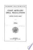 Coast Artillery Drill Regulations United States Army