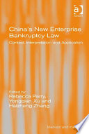 China S New Enterprise Bankruptcy Law