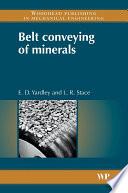 Belt Conveying of Minerals Book