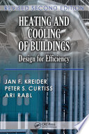 Heating And Cooling Of Buildings Book PDF
