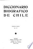Diccionario biográfico de Chile
