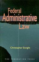 Federal Administrative Law Pdf/ePub eBook