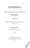 Aeneidea, Or Critical, Exegetical, and Aesthetical Remarks on the Aeneïs