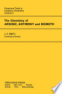The Chemistry of Arsenic, Antimony and Bismuth
