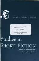 Studies in short fiction