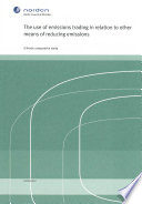 The Use Of Emissions Trading In Relation To Other Means Of Reducing Emissions