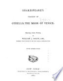 Shakespeare s Tragedy of Othello  the Moor of Venice Book